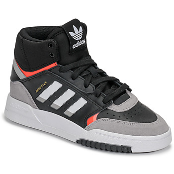 Shoes Boy Low top trainers adidas Originals DROP STEP J Black / Grey