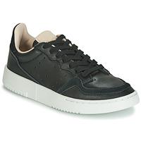 Shoes Children Low top trainers adidas Originals SUPERCOURT J Black