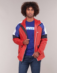 Clothing Men Macs Levi's COLORBLOCK WINDRUNNER Red / Blue