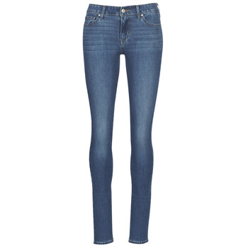 Clothing Women Skinny jeans Levi's 711 SKINNY It / Gold