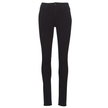 Clothing Women Skinny jeans Levi's 721 HIGH RISE SKINNY Black