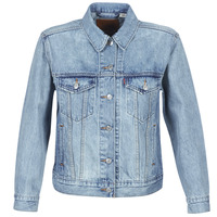 Clothing Women Denim jackets Levi's EX-BOYFRIEND TRUCKER For / Real
