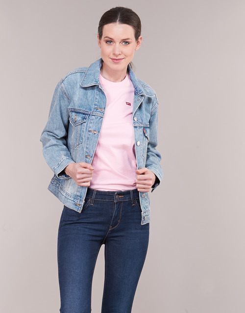 2020 Newest Levi's EX-BOYFRIEND TRUCKER For / Real 15652620 Women's Clothing