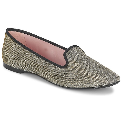 Shoes Women Flat shoes Pretty Ballerinas FAYE Metallic / Shiny