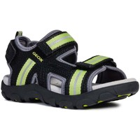 Shoes Boy Sandals Geox Junior Strada Boys Sandals black