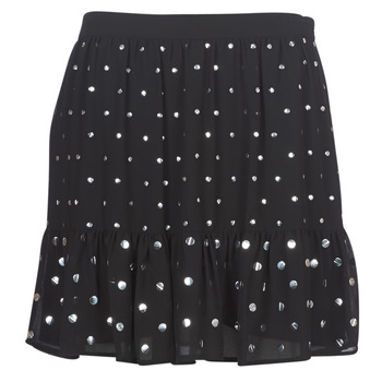 Clothing Women Skirts MICHAEL Michael Kors NAIL HT FLOUNCE SKIRT Black