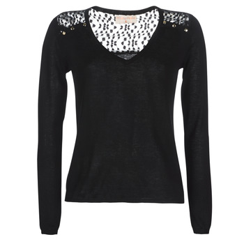 Clothing Women jumpers Moony Mood LOVEA Black