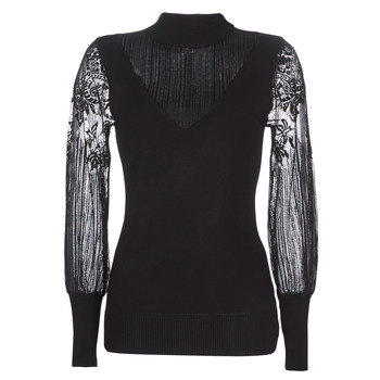 Clothing Women Jumpers Moony Mood LOVEI Black