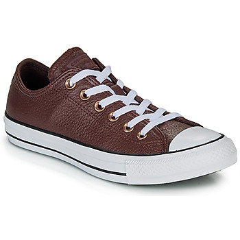 Shoes Low top trainers Converse CHUCK TAYLOR ALL STAR LEATHER - OX Burgundy