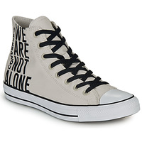 Shoes Hi top trainers Converse CHUCK TAYLOR ALL STAR WE ARE NOT ALONE - HI Taupe