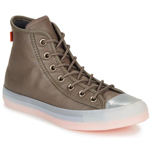 Shoes Hi top trainers Converse CHUCK TAYLOR ALL STAR - HI Kaki