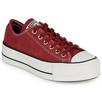 Shoes Women Low top trainers Converse CHUCK TAYLOR ALL STAR LIFT - OX Burgundy