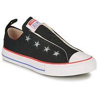 Shoes Girl Low top trainers Converse CHUCK TAYLOR ALL STAR TEEN SLIP CANVAS COLOR - SLIP  black