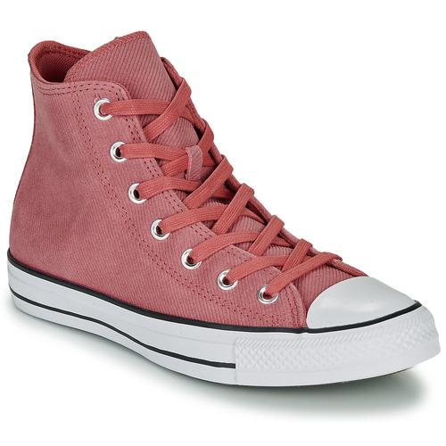 Shoes Women Hi top trainers Converse CHUCK TAYLOR ALL STAR RETROGRADE - HI Pink