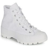 Shoes Women Hi top trainers Converse CHUCK TAYLOR ALL STAR LUGGED BASIC CANVAS White