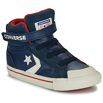 Shoes Children Hi top trainers Converse PRO BLAZE STRAP - HI Navy
