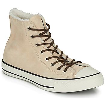 Shoes Women Hi top trainers Converse CHUCK TAYLOR ALL STAR - HI Beige