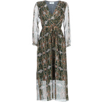 Clothing Women Long Dresses Betty London LILIE-ROSE Green / Multicoloured