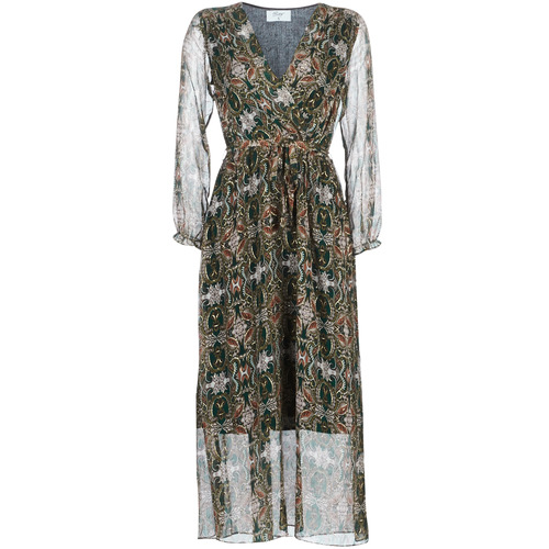 Clothing Women Long Dresses Betty London LILIE-ROSE Green / Multicolour