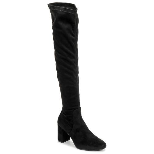 Shoes Women Thigh boots Betty London LAHNA Black