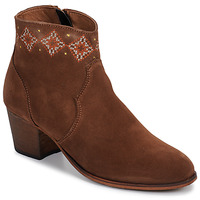 Shoes Women Ankle boots Betty London LAURE-ELISE Camel