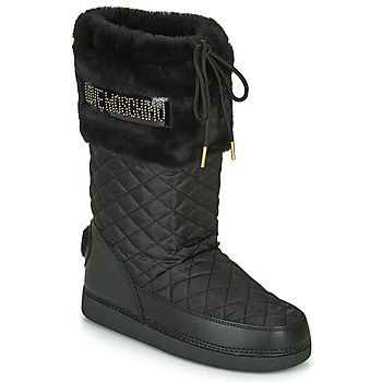 Shoes Women Snow boots Love Moschino JA2416 Black / Gold