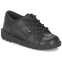 Shoes Children Low top trainers Kickers KICK LOTOE Black