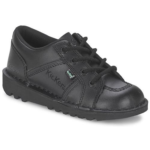 Shoes Children Low top trainers Kickers KICK LOTOE Black