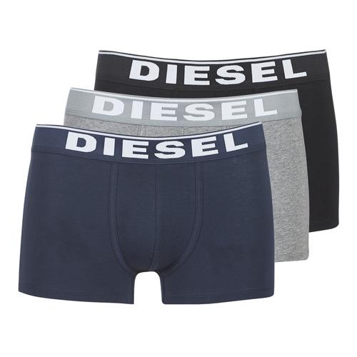 Underwear Men Boxer shorts Diesel DAMIEN Grey / Marine / Black