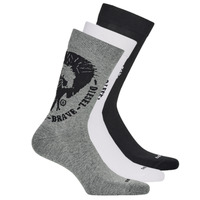 Shoe accessories Men Socks Diesel SKM-RAY-THREEPACK-0EASX-E3843 Black / Grey / White