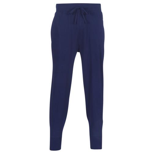 Clothing Men Tracksuit bottoms Polo Ralph Lauren JOGGER-PANT-SLEEP BOTTOM Marine
