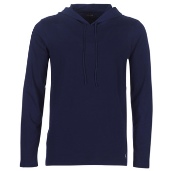 Clothing Men Sweaters Polo Ralph Lauren L/S HOODIE-HOODIE-SLEEP TOP Marine