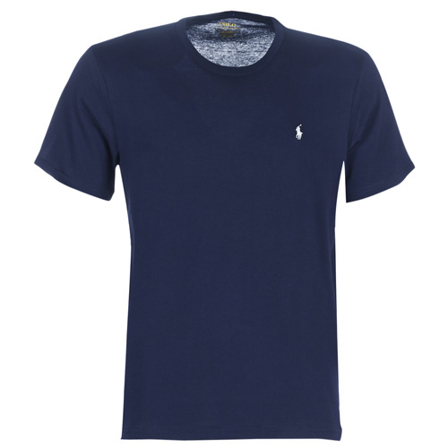 Clothing Men short-sleeved t-shirts Polo Ralph Lauren S/S CREW-CREW-SLEEP TOP Marine