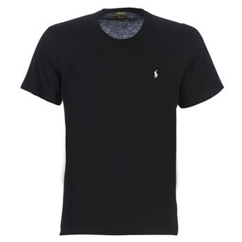 Clothing Men Short-sleeved t-shirts Polo Ralph Lauren S/S CREW-CREW-SLEEP TOP Black
