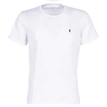 Clothing Men Short-sleeved t-shirts Polo Ralph Lauren S/S CREW-CREW-SLEEP TOP White