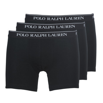 Underwear Men Boxer shorts Polo Ralph Lauren BOXER BRIEF-3 PACK Black