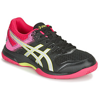 Shoes Women Indoor sports trainers Asics GEL-ROCKET 9 Black / Pink