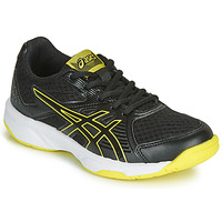Shoes Children Indoor sports trainers Asics UPCOURT 3 GS Black / Yellow
