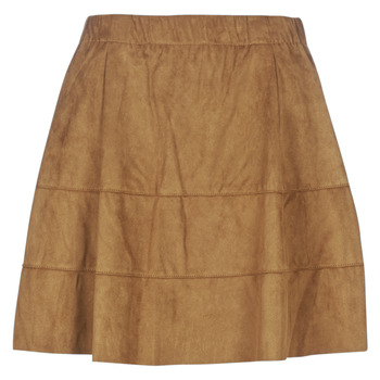 Clothing Women Skirts Noisy May NMLAUREN Cognac