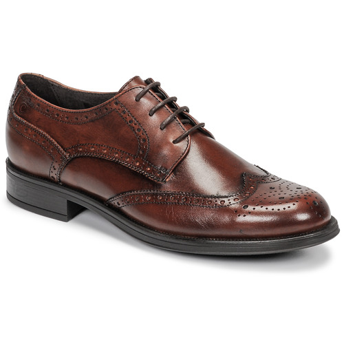 Shoes Men Derby Shoes Carlington LOUVIAN Brown