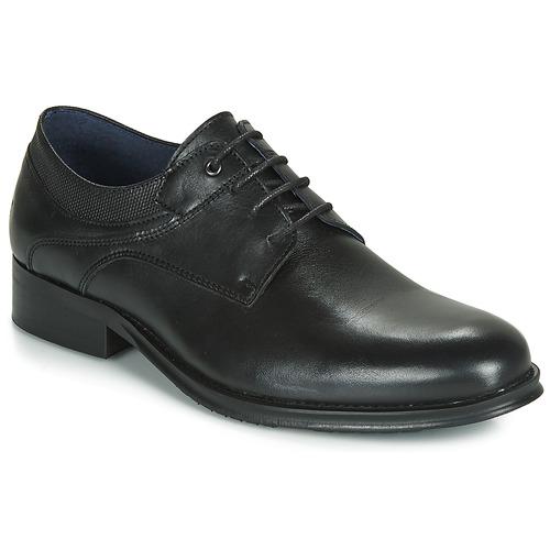 Shoes Men Derby Shoes Carlington LUCIEN Black
