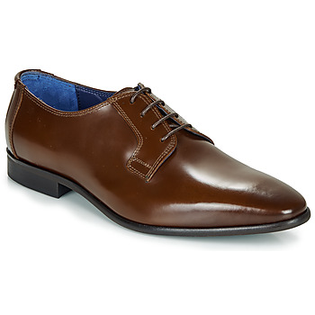 Shoes Men Derby Shoes Azzaro VICHE Brown