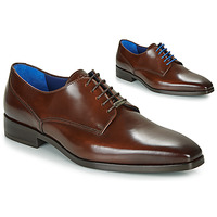 Shoes Men Derby Shoes Azzaro POIVRE Brown