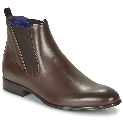 Shoes Men Mid boots Azzaro TARDIF Brown