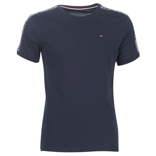 Clothing Men short-sleeved t-shirts Tommy Hilfiger AUTHENTIC-UM0UM00562 Marine