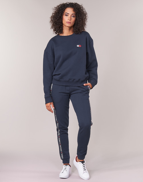 Clothing Women Tracksuit bottoms Tommy Hilfiger AUTHENTIC-UW0UW00564 Marine