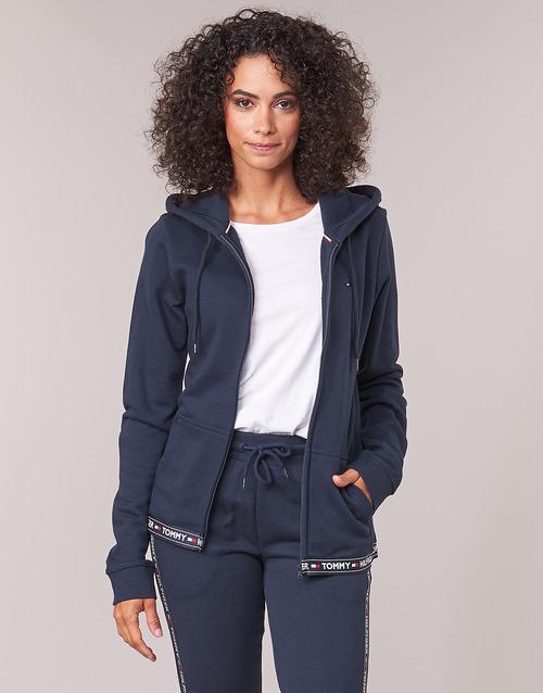Clothing Women sweaters Tommy Hilfiger AUTHENTIC-UW0UW00582 Marine