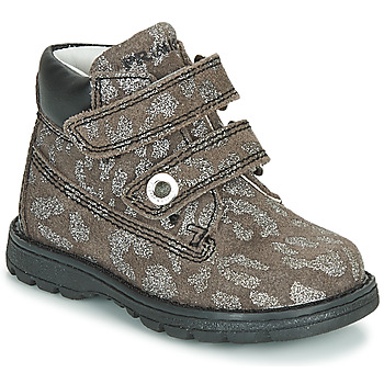 Shoes Girl Mid boots Primigi (enfant) ASPY 1 Grey / Silver