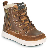 Shoes Boy Mid boots Primigi (enfant) BARTH GORE-TEX Brown