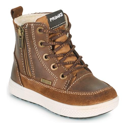 Shoes Boy Mid boots Primigi BARTH GORE-TEX Brown